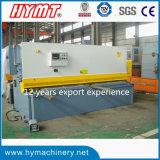 Máquina de corte de la viga hidráulica del oscilación del control de QC12y-12X3200 Nc