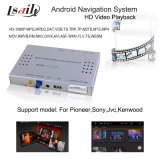 WiFi Network、3G Dongle、Live NavigationのPioneer DVDのためのHD 1080P Android Navigation Box