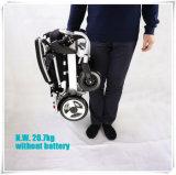 5 minuscules pliables et fauteuil roulant portatif de pouvoir