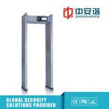 24 Sicherheits-Stufe Hoch-Dezibel Warnungs-Weg der Zonen-Metalldetektor-100 durch Detektoren