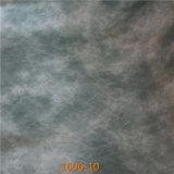 Cuero llano de Microfiber para el cuero casero de la PU de la tela de los muebles (1606#)