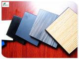 Пожаробезопасная high-density доска листа мебели декоративного пластик