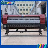 прокладчик растворителя Eco формы знамени печатающая головка Dx7 3.2m широкий