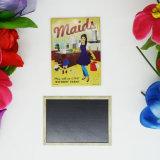 Magnete su ordinazione del frigorifero del metallo del regalo di promozione con il marchio personalizzato