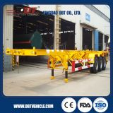 半Traielr 3axle Skeleton Semi Trailer