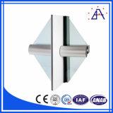 Profil en aluminium de mur rideau d'extrusion
