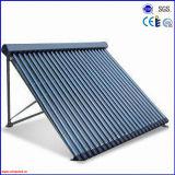 Nuevo alto tubo evacuado Collcetor solar de la capa Metal-Vidrio eficiente