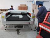 1800*1000mm führendes Selbstgewebe/Textillaser-Ausschnitt-Gravierfräsmaschine