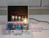 Tester di corrente alternata della visualizzazione dei prodotti di illuminazione del LED