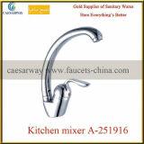 Mélangeur sanitaire de l'eau de bassin de cuisine d'articles