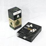 Boîte-cadeau enduite partielle de carton de tissu