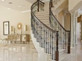 Hot Sell Beautiful Crema Marfil Marbre Escalier, Escalier Design