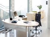 Modernes Color Executive Office Desk mit Vice Cabinet (SZ-ODL312)