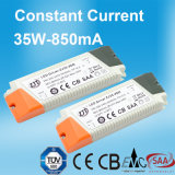 35W 850mA Constant Current LED Power Supply met TUV CITIZENS BAND
