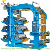 6color Flexo Printing machine en PE Film Printing Machine