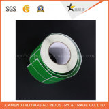 Alta calidad colorida etiqueta impresa servicio de impresión de transferencia de adhesivo pegatina