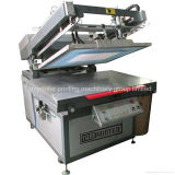 기계 t-셔츠 스크린 인쇄 기계를 인쇄하는 Tmp-6090 비스듬한 팔 평면 화면
