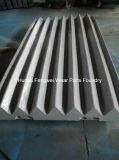 Soem-zerteilt hohe Mangan-Stahl-Zerkleinerungsmaschine Kiefer-Platten