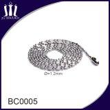 Metallo di alta qualità che borda la catena inossidabile della sfera