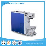 금속을%s 10W 20W 탁상용 유형 로고 날짜 섬유 Laser 표하기 시스템