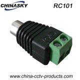 Prise femelle CCTV RCA avec borne à vis (RC101)
