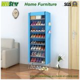 8-Tier Classic Simple Home Dustproof Cloth Shoe Cabinet (WS16-0043, für Hauptmöbel)