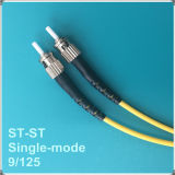 St-St Upc Single-Mode Fiber Optic Patch Cord