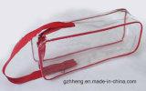 De uitstekende kwaliteit drukte Zak van de Ritssluiting van het Pak van het Kledingstuk van de Tribune omhoog Resealable Plastic (af OEM)