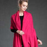 نساء في شتاء أن يحافظ [مي] دافئ جلّيّة &#160 أحمر; بوليستر وشاح شال
