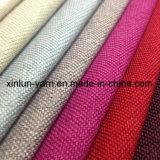 Tissu à carreaux 100% polyester en coton Jacquard Linen