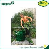 Qualitäts-zusammenklappbares vertikales Garten-Abfall-Beutel PET Pop-up Beutel