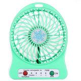 熱い製品の携帯用ファン机の小型電気再充電可能なファン