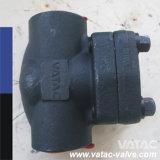 Valvola di ritenuta d'acciaio fucinata dell'oscillazione A105/F304/F316