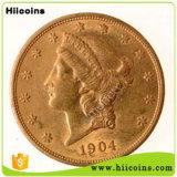 Изготовление монеток Vancient римских отсутствие сбывание MOQ и изготовленный на заказ монетки Irish монеток возможности Канады