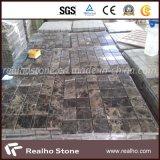 Buen azulejo de mosaico de mármol de Marron Emperador del precio