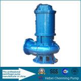 Bomba de aguas residuales sumergible centrífuga de agua de marina de la descarga de la elevación