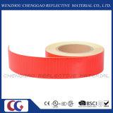 Rodillo adhesivo de la etiqueta engomada de la precaución amonestadora reflexiva prismática de la seguridad de la evidencia (C3500-OXR)