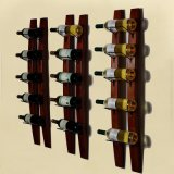 Madeira de ferro Vinho Rack Bar Wine Rack Home Furniture Custom