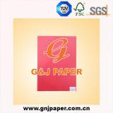 Le papier de traçage blanc lumineux élevé de couleur pour le vêtement étiquette la production