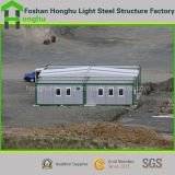 Vorfabrizierter Haus-Stahlkonstruktion-Rahmen-Fertigbehälter-Haus