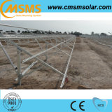Instalación de tierra del panel solar