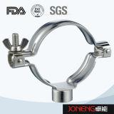 Sostenedor del tubo de las instalaciones de tuberías de la categoría alimenticia del acero inoxidable (JN-FL2005)