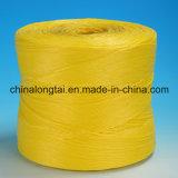 Ficelle de presse jaune bleue de couleur de pp (LT)