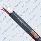 Cable de calidad superior Rg59 del CCTV de 75 ohmios