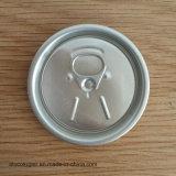 Tapas de la poder de bebida de aluminio 50m m tapa abierta fácil de 200 tallas