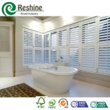 PVC Interior Plantation Shutter per Bathroom Window