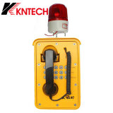 Teléfonos impermeables Kntech Knsp-09 del teléfono resistente
