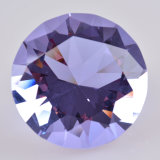 De romantische Diamant van het Glas van het Kristal van de Gunst van het Huwelijk Purpere