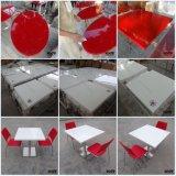 Piano d'appoggio pranzante di superficie solido di marmo moderno degli alimenti a rapida preparazione