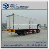 Type camion de réfrigérateur, petit camion d'entraînement de Jmc 4X2 de congélateur de réfrigérateur
